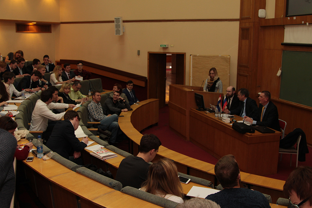 Students from Dutch University visit RANEPA