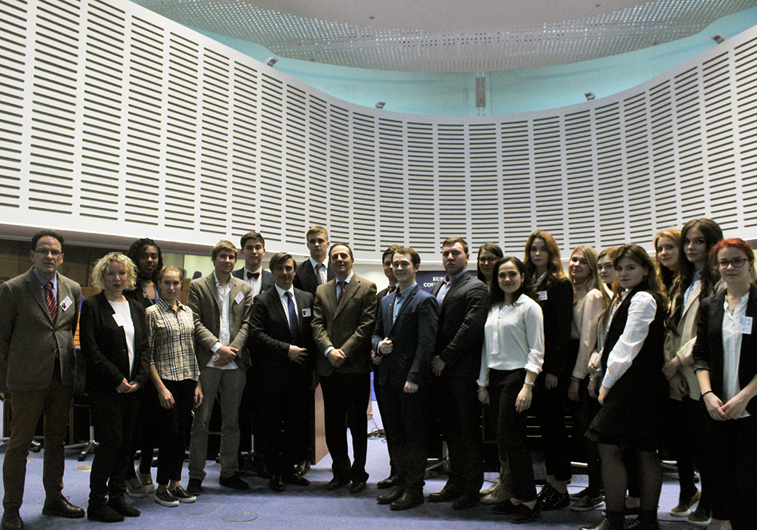 RANEPA Students visit European Court of Human Rights and the Council of Europe