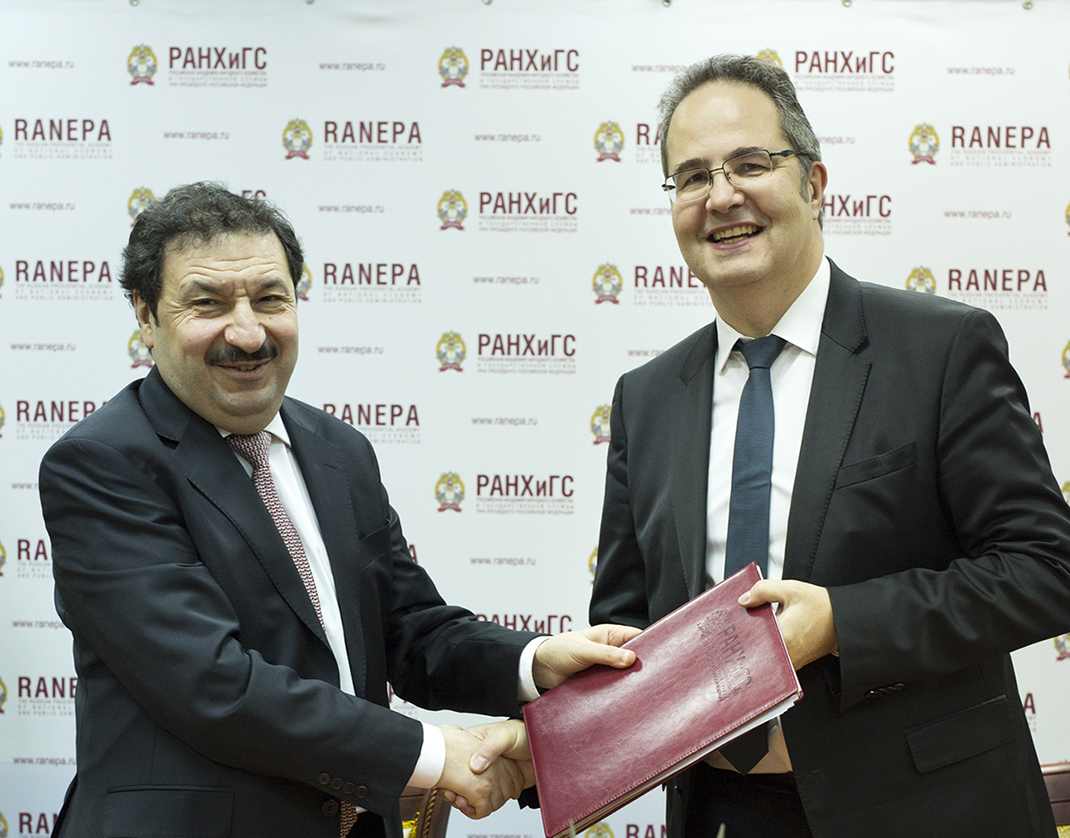 RANEPA signs agreements with leading French business schools, SKEMA and NEOMA