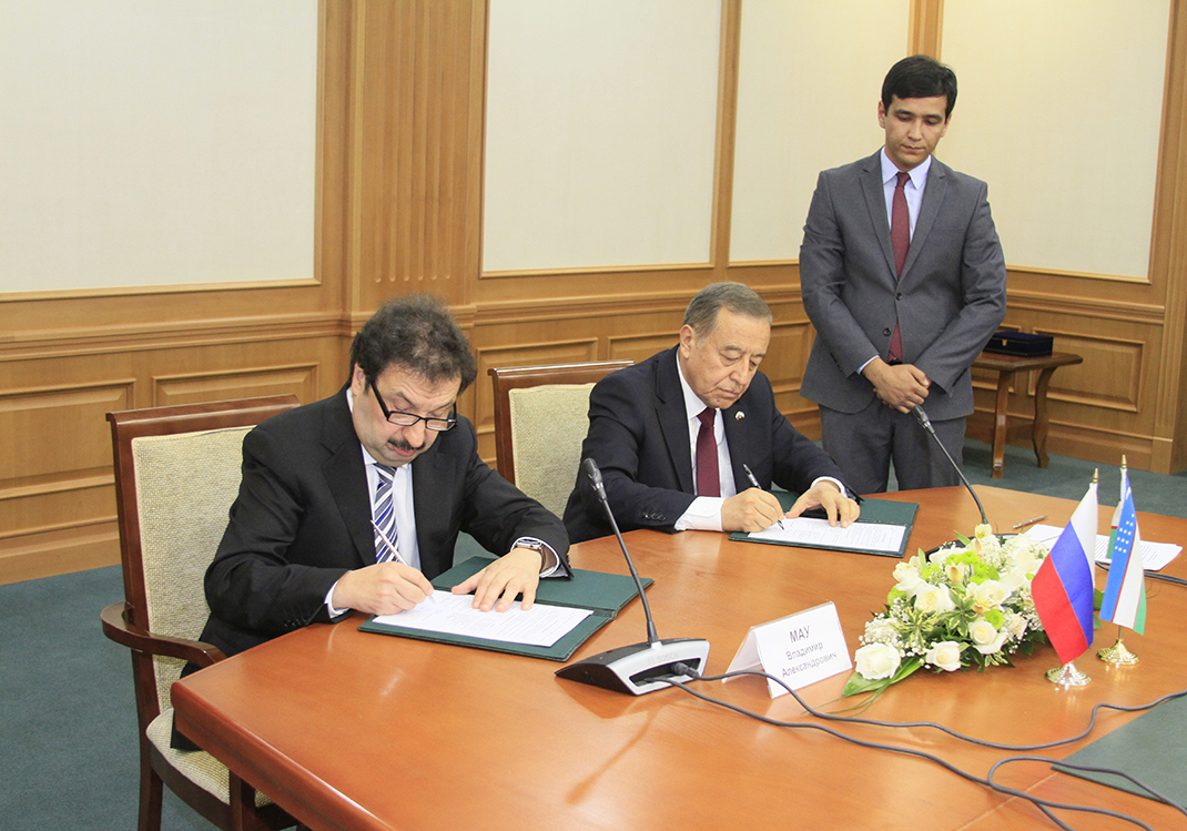 RANEPA expands cooperation with Uzbekistan