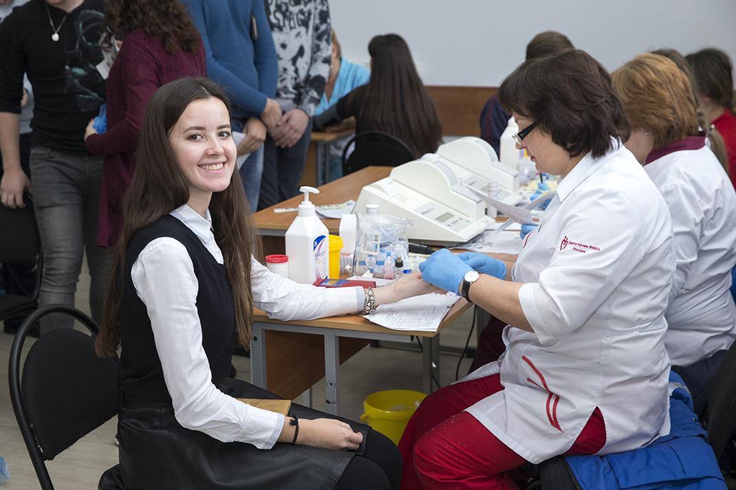 В Академии прошел День донора