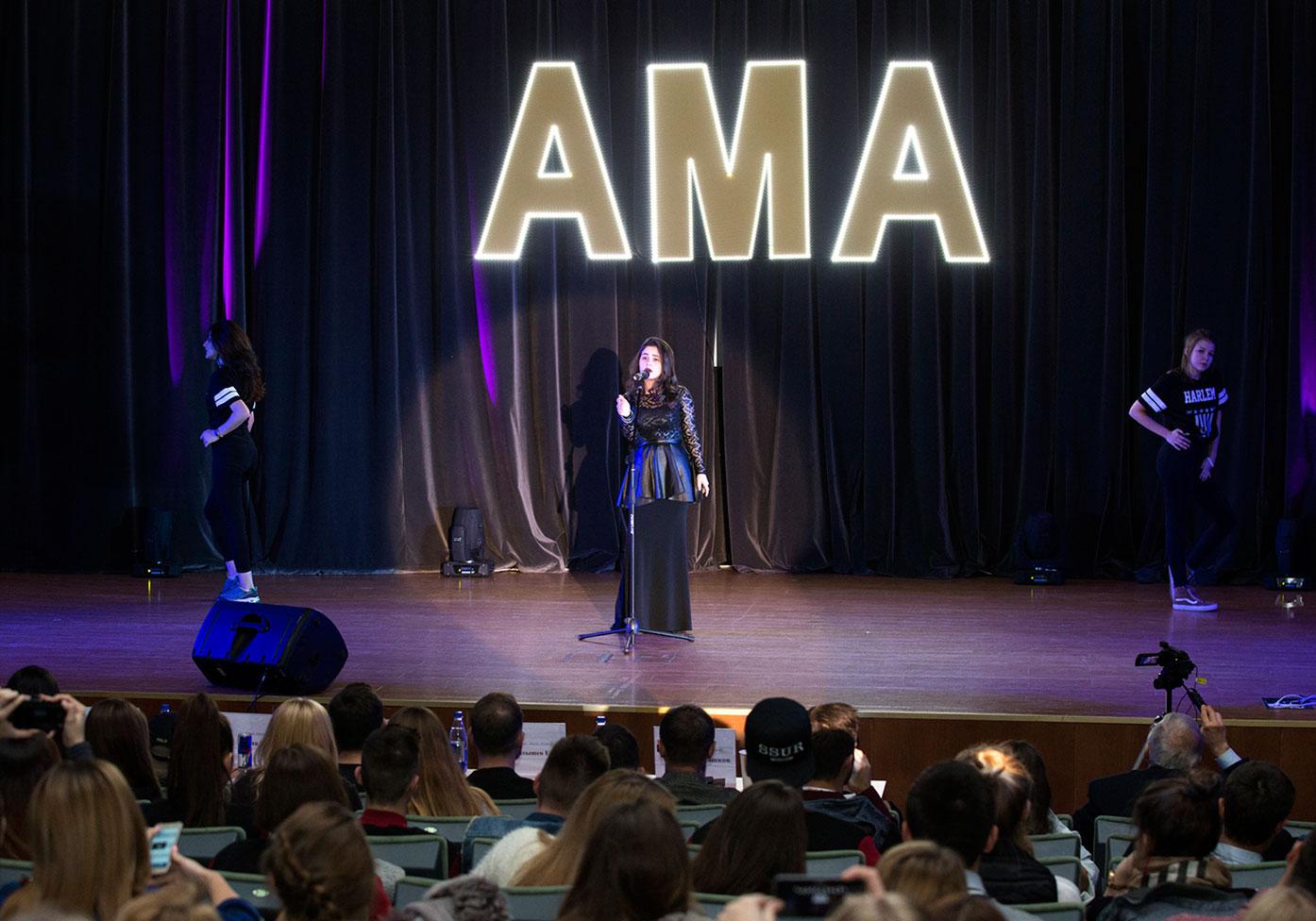 Определены победители Academic Music Awards – 2016 РАНХиГС. 2 место – Эльмира Абдуллаева, 1 курс, ИПиНБ