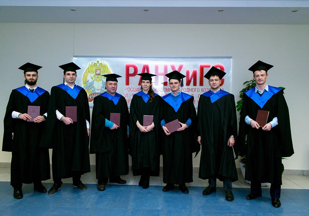 В Академии вручены первые дипломы выпускникам программы Specialized Master of Management