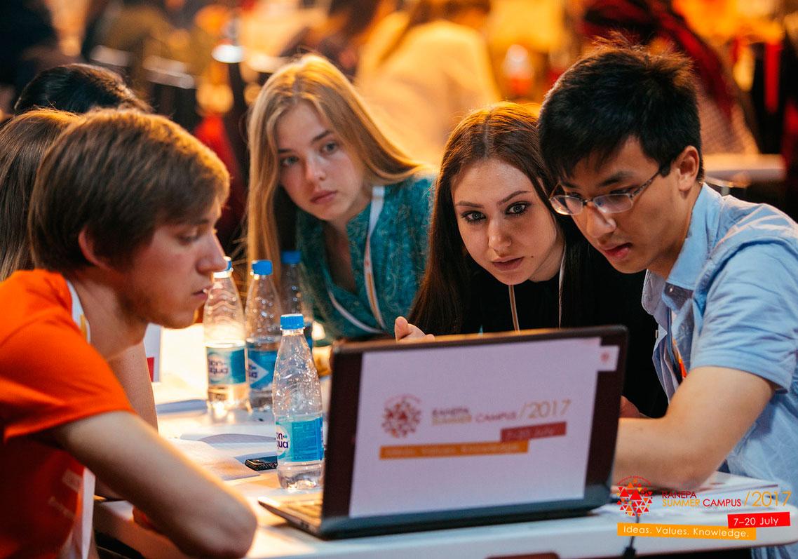 Участники Летнего кампуса прошли вводный тренинг бизнес-симулятора Global Management Challenge