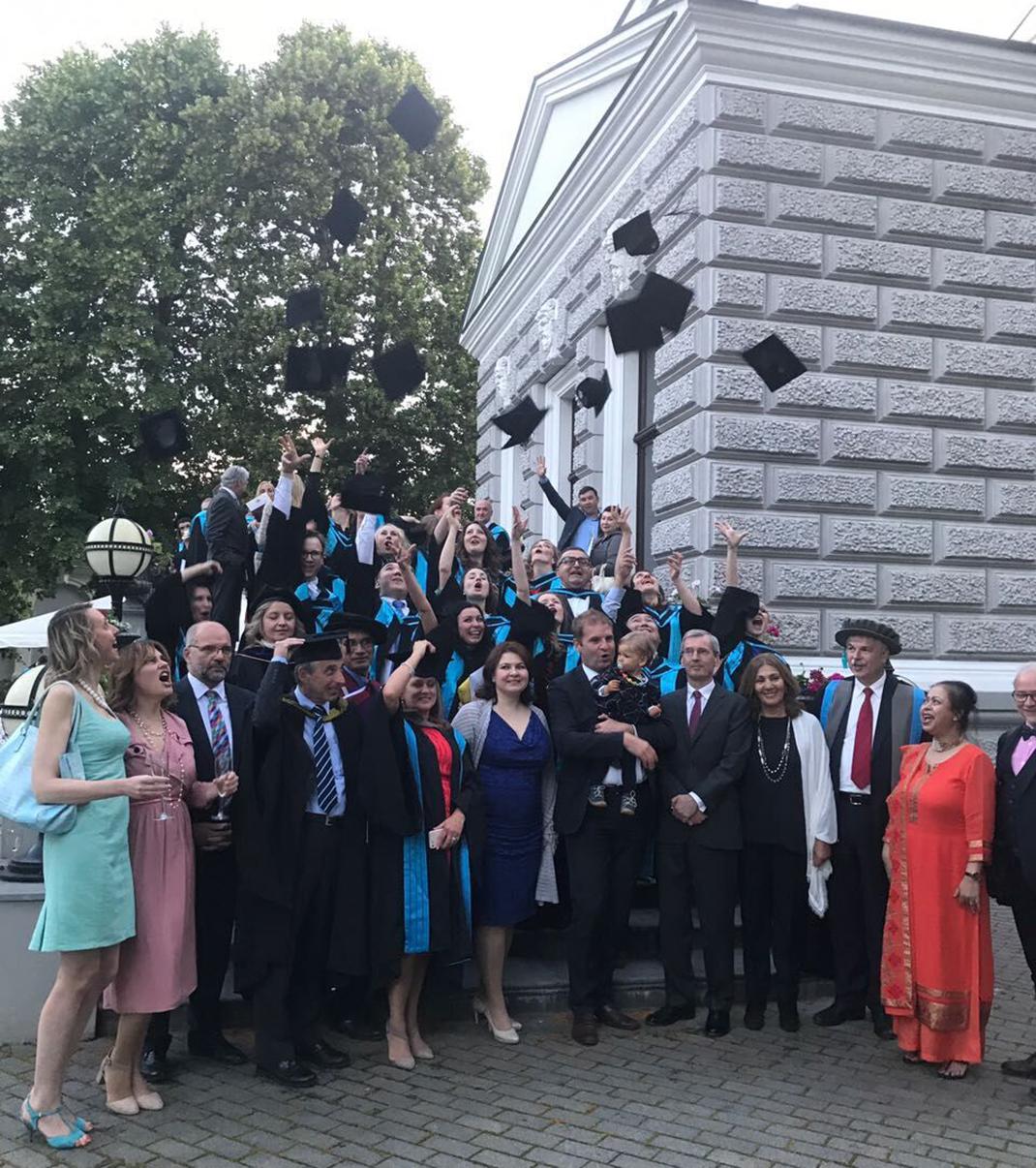Состоялось вручение дипломов выпускникам Международных программ РАНХиГС/Kingston