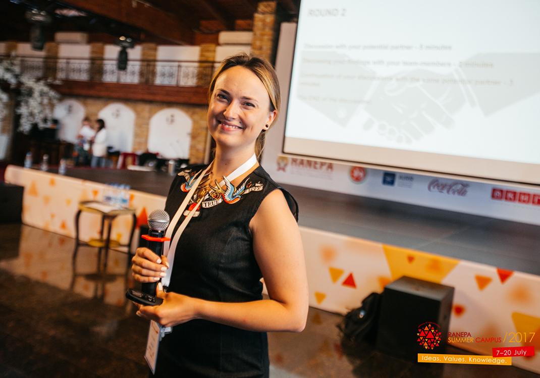 Анна Липина провела мастер-класс по успешному ведению деловых переговоров