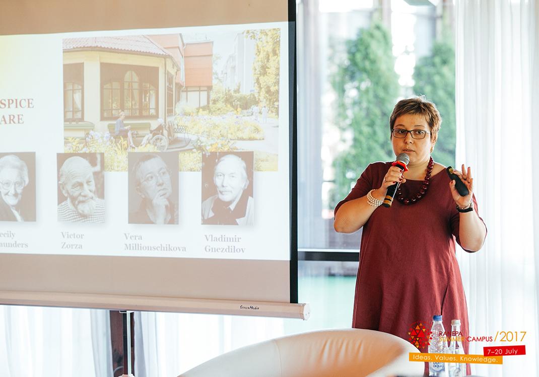 Анна Федермессер рассказала, как участники Кампуса могут помочь людям