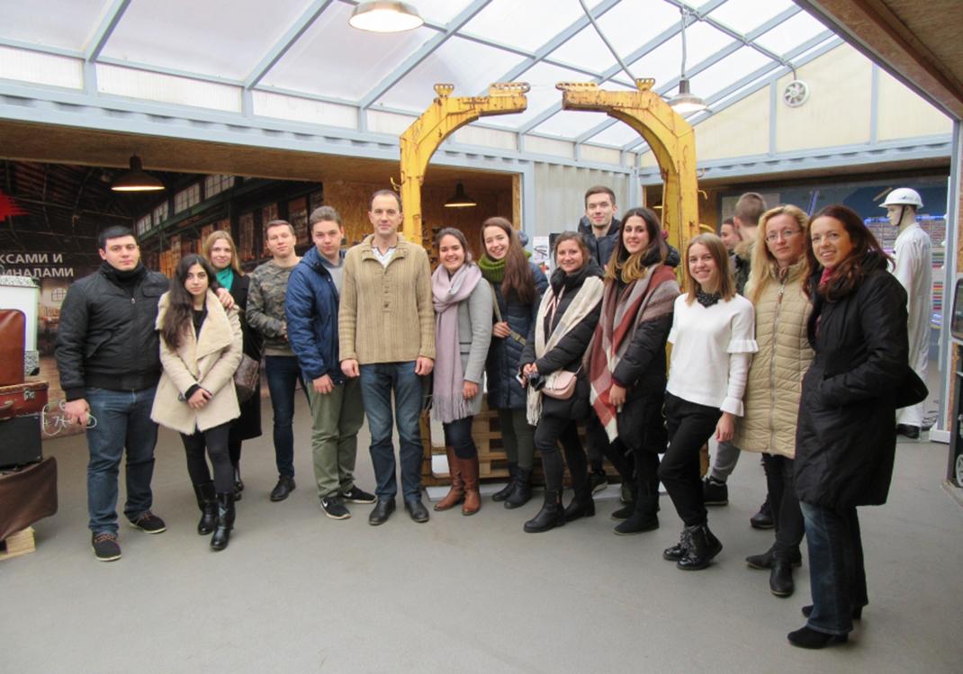 Студенты РАНХиГС посетили логистические центры Санкт-Петербурга