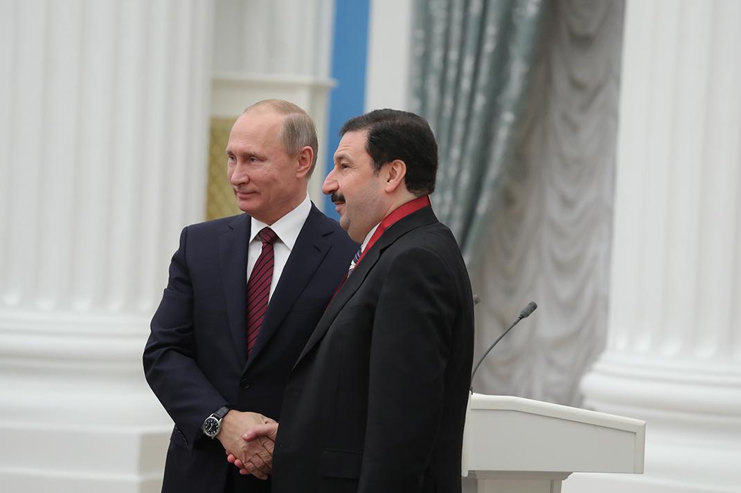 Владимир Мау награжден орденом «За заслуги перед Отечеством»
