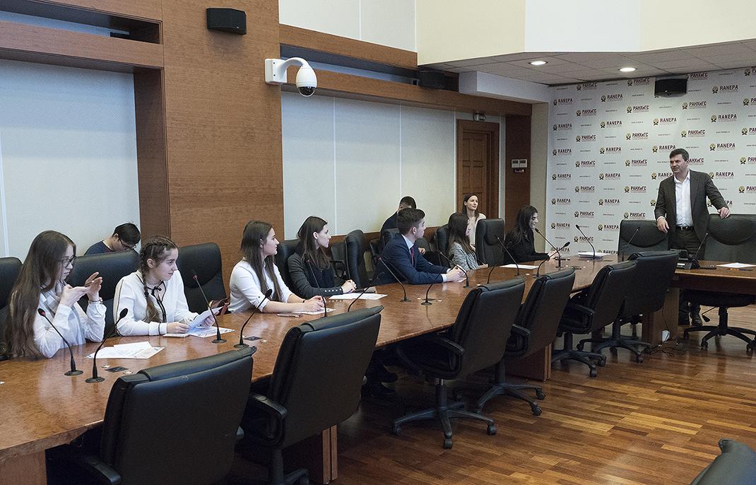 Состоялось награждение студентов, принимавших участие в организации Всероссийского конкурса «Лидеры России»