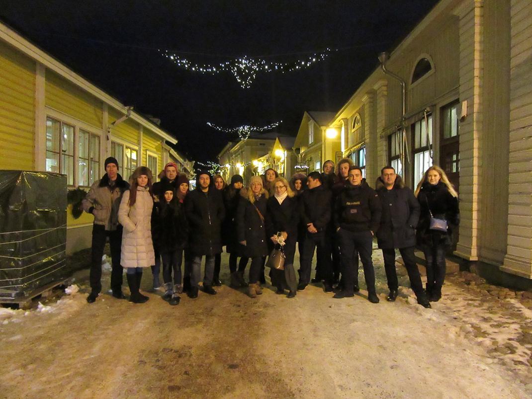 Студенты РАНХиГС приняли участие в выездном семинаре в Финляндии