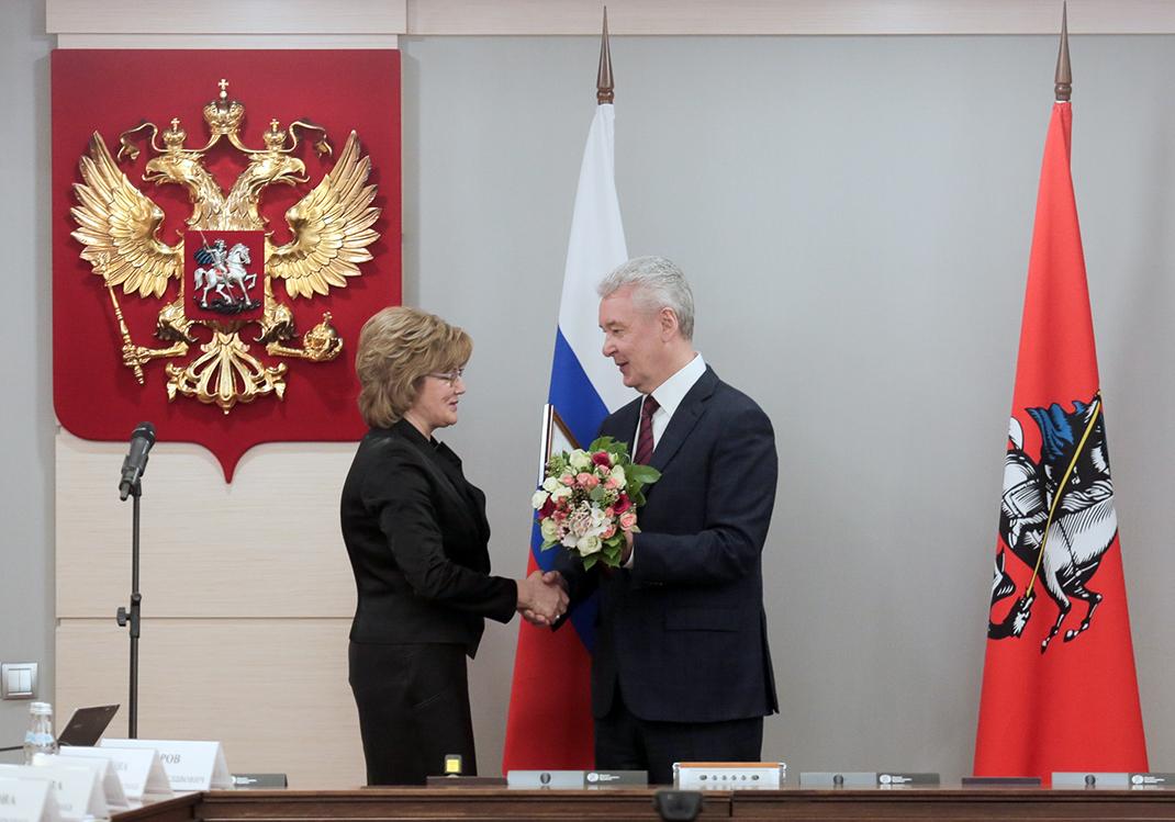 Профессор Академии Ирина Орлова получила благодарность мэра Москвы