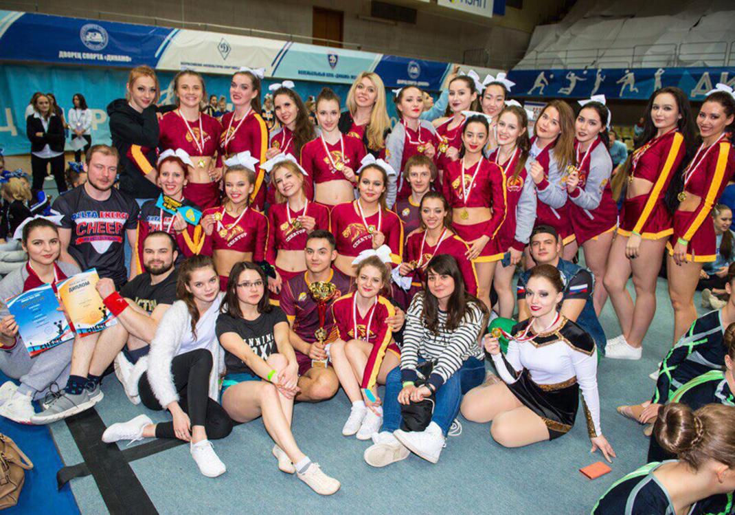 Черлидеры РАНХиГС получили четыре золота на Moscow Cheer 2018