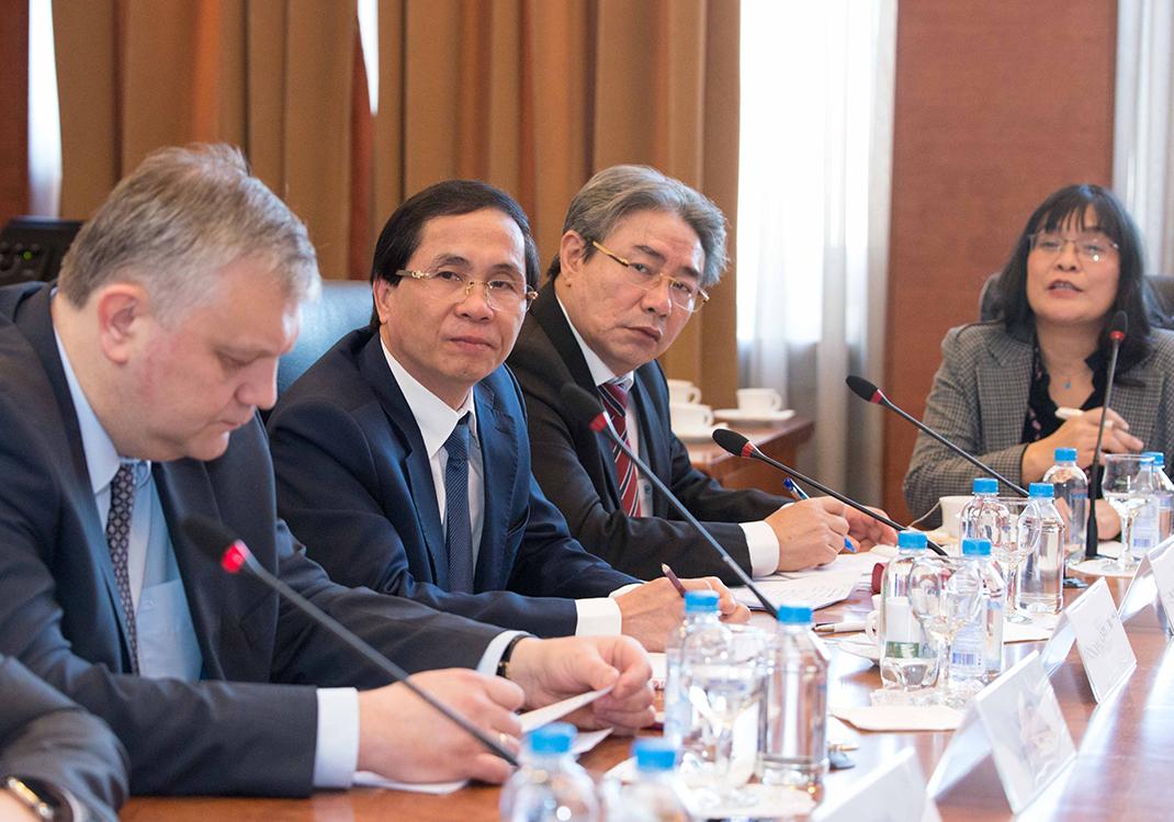 Делегация Национальной академии госуправления Вьетнама посетила РАНХиГС
