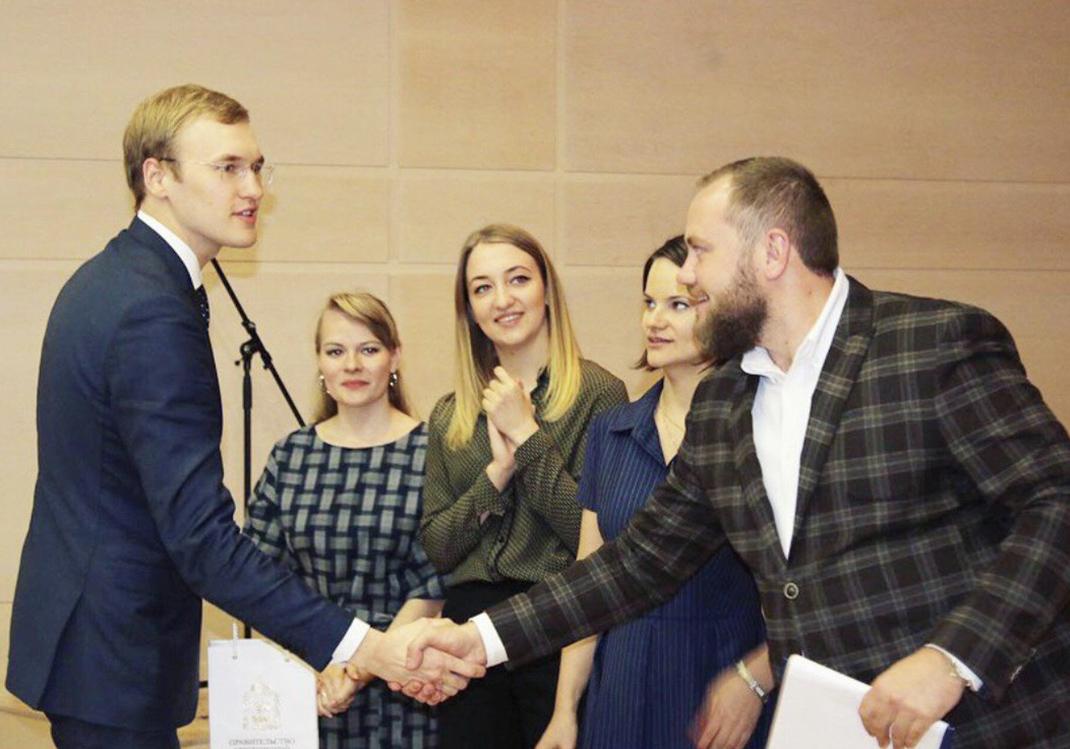 Студенты Академии Илья Матвеев и Анна Арутюнова – победители конкурса «Мировой опыт госуправления»