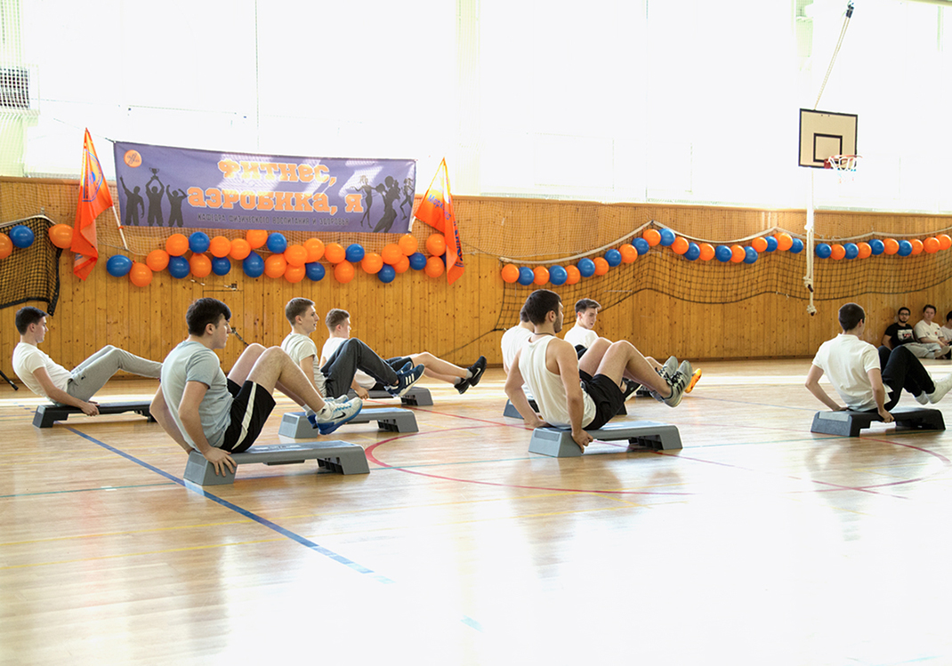 Фитнес-фестиваль в РАНХиГС