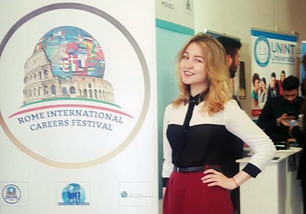 Студентка Академии выиграла кейс-чемпионат Международного карьерного фестиваля в Риме