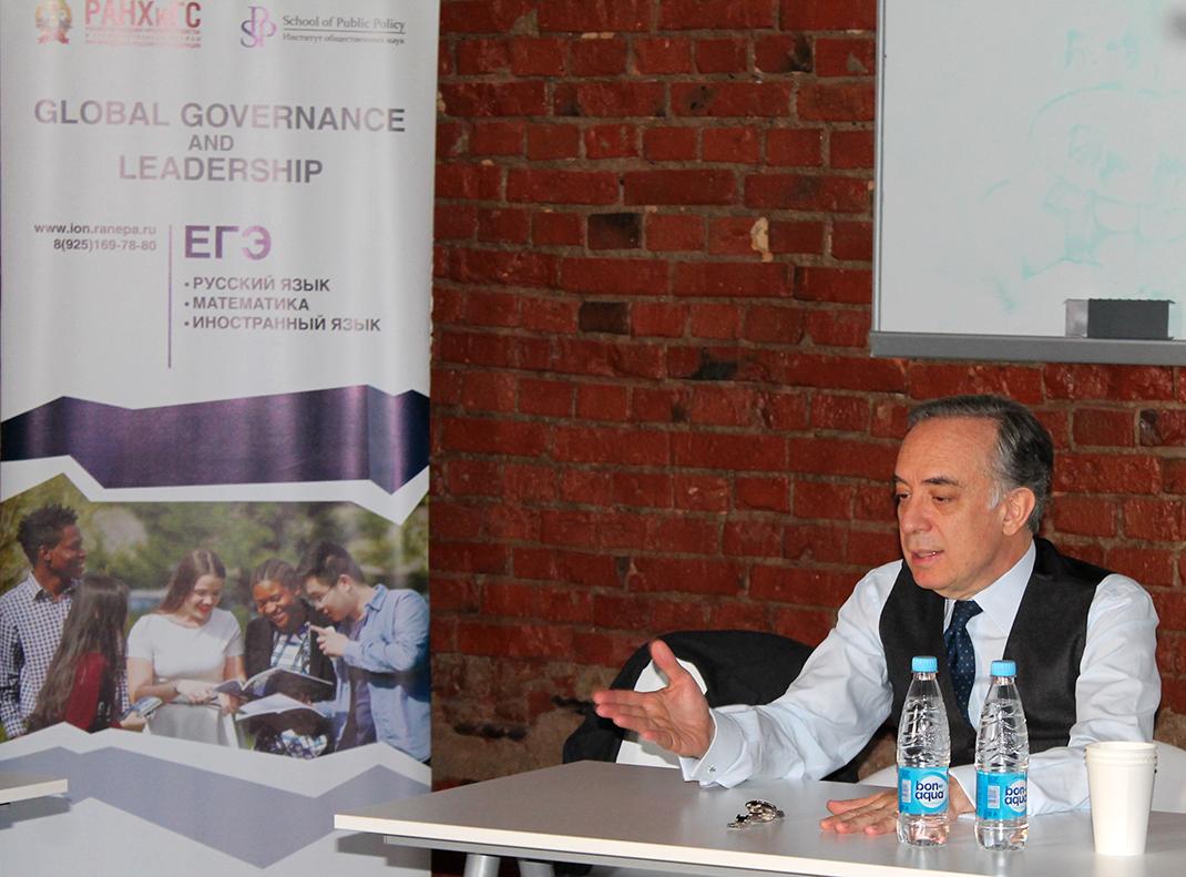 В Академии выступил посол Италии в России Паскуале Терраччано