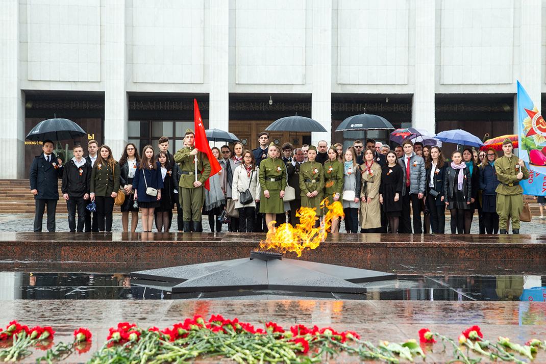 В РАНХиГС состоялась акция «Молодые патриоты Отчизны» (ФОТОГАЛЕРЕЯ)