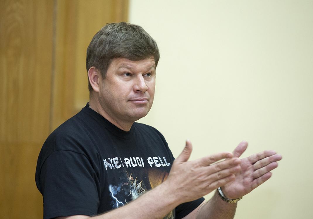 В РАНХиГС провел лекцию комментатор Дмитрий Губерниев