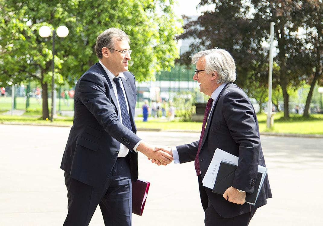В РАНХиГС выступил чрезвычайный и полномочный посол Королевства Испания