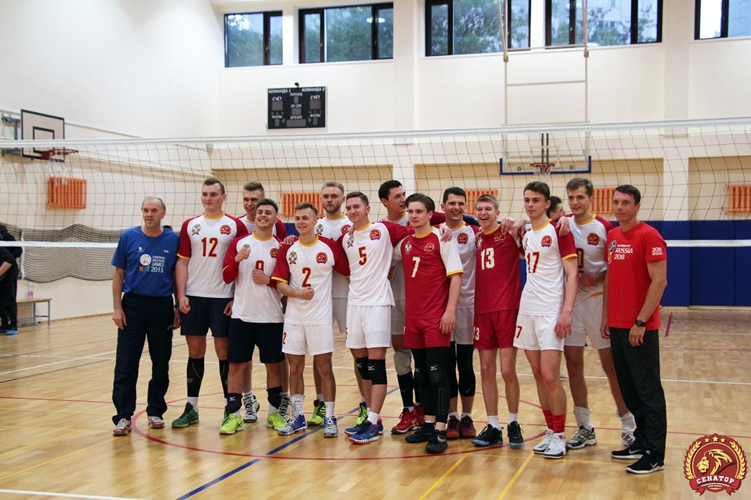 Студенты Академии вышли в Суперлигу по волейболу