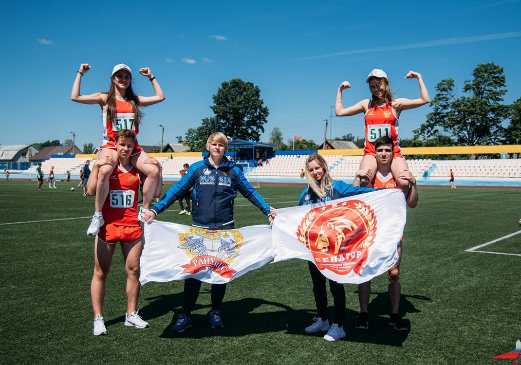 Спортивные победы студентов: футболисты – призеры Спартакиады Союзного государства в Белорусси