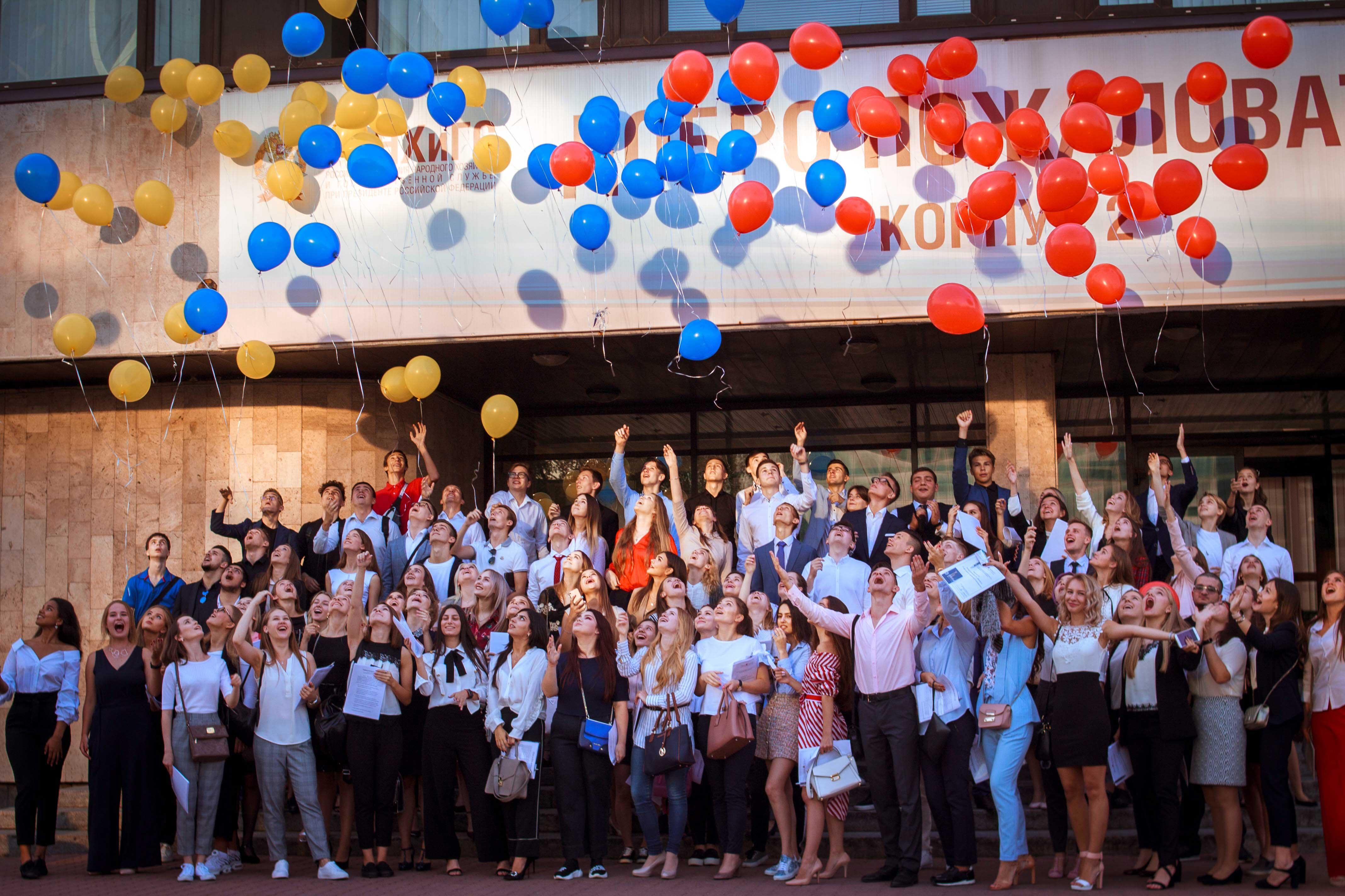 7 сентября прошло посвящение в студенты первокурсников бакалаврских программ Факультета международного бизнеса и делового администрирования Института бизнеса и делового администрирования (ИБДА) РАНХиГС
