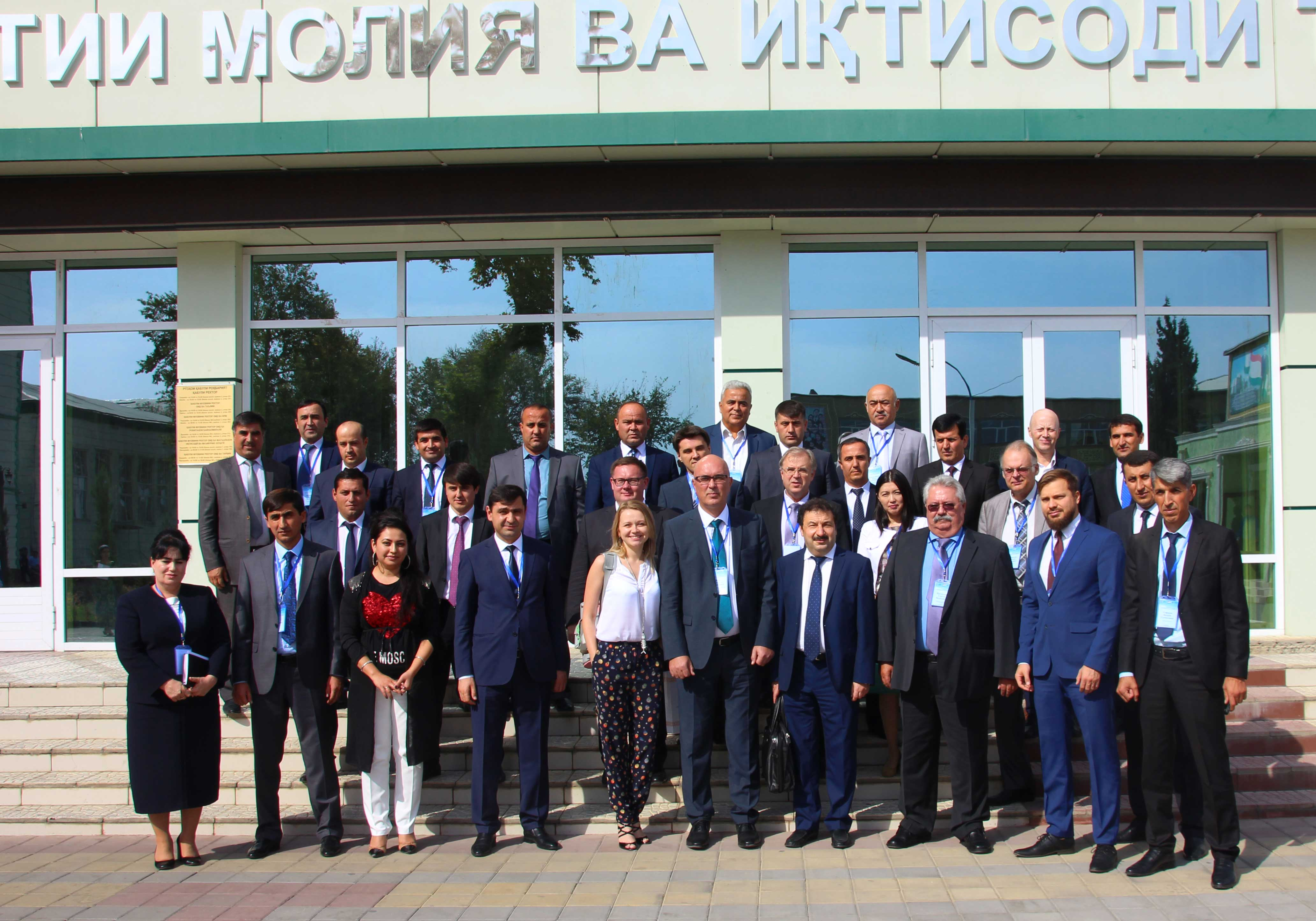 Владимир Мау посетил Таджикистан