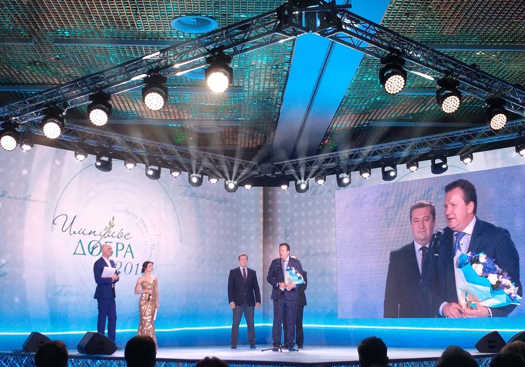 Престижная награда за подготовку социальных предпринимателей