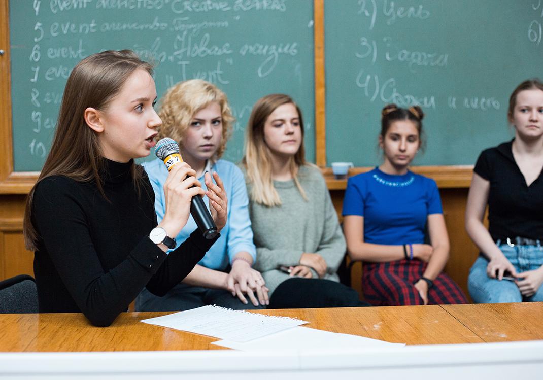 Первокурсники адаптируются по программе Студсовета