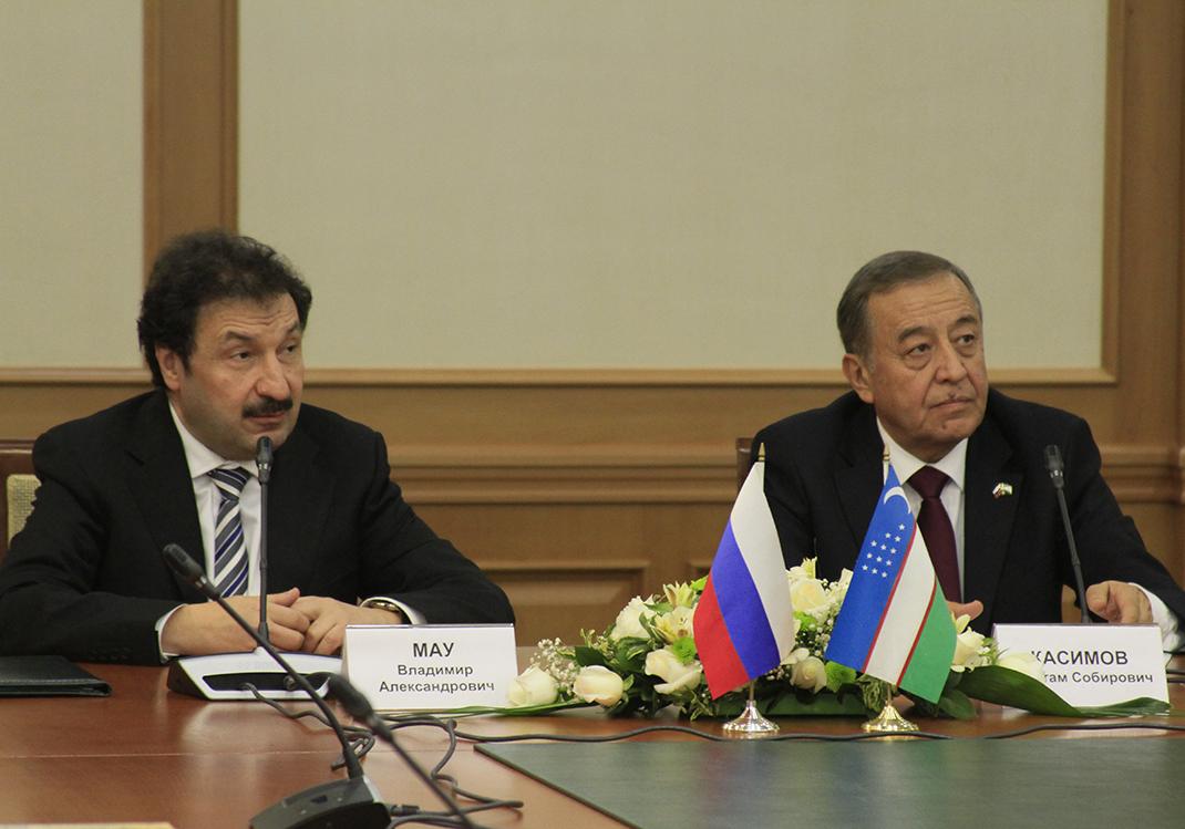 рий Жондоров.  Он, к слову, занимает эту должность с 2012 г.  РАНХиГС развивает отношения с Узбекистаном