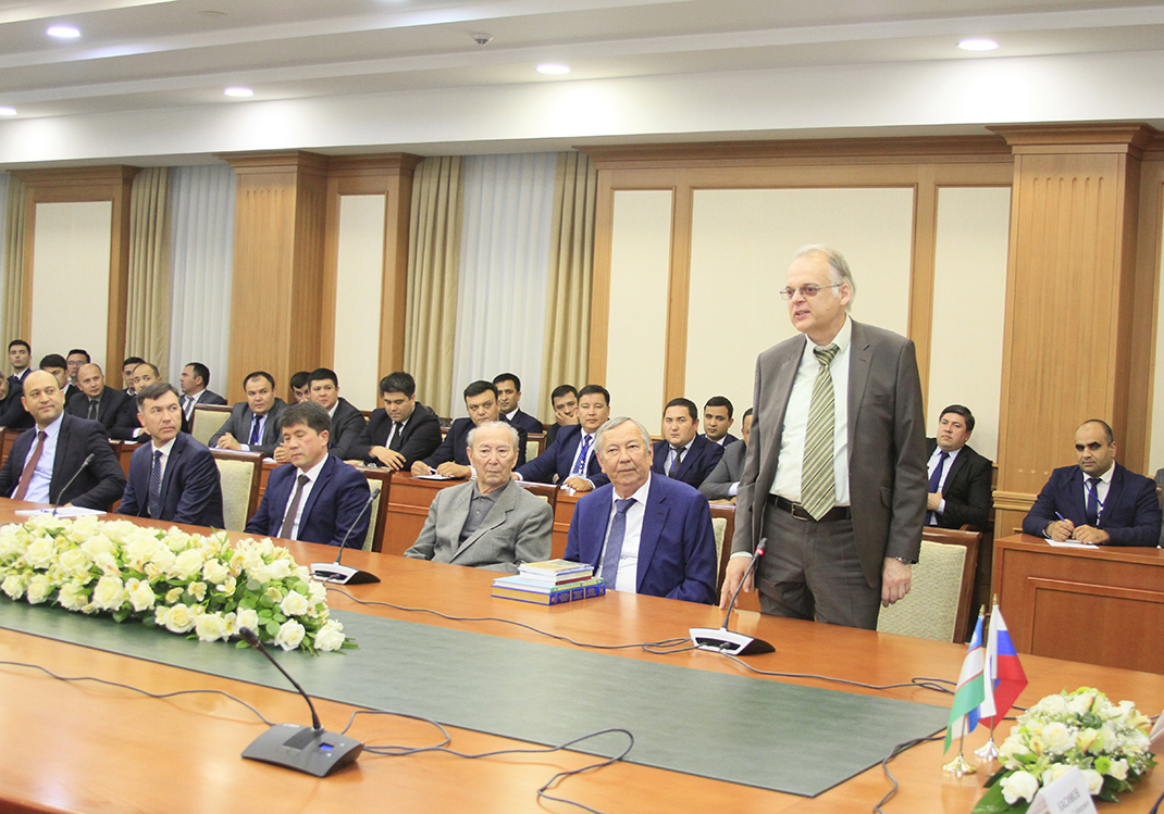 РАНХиГС развивает отношения с Узбекистаном