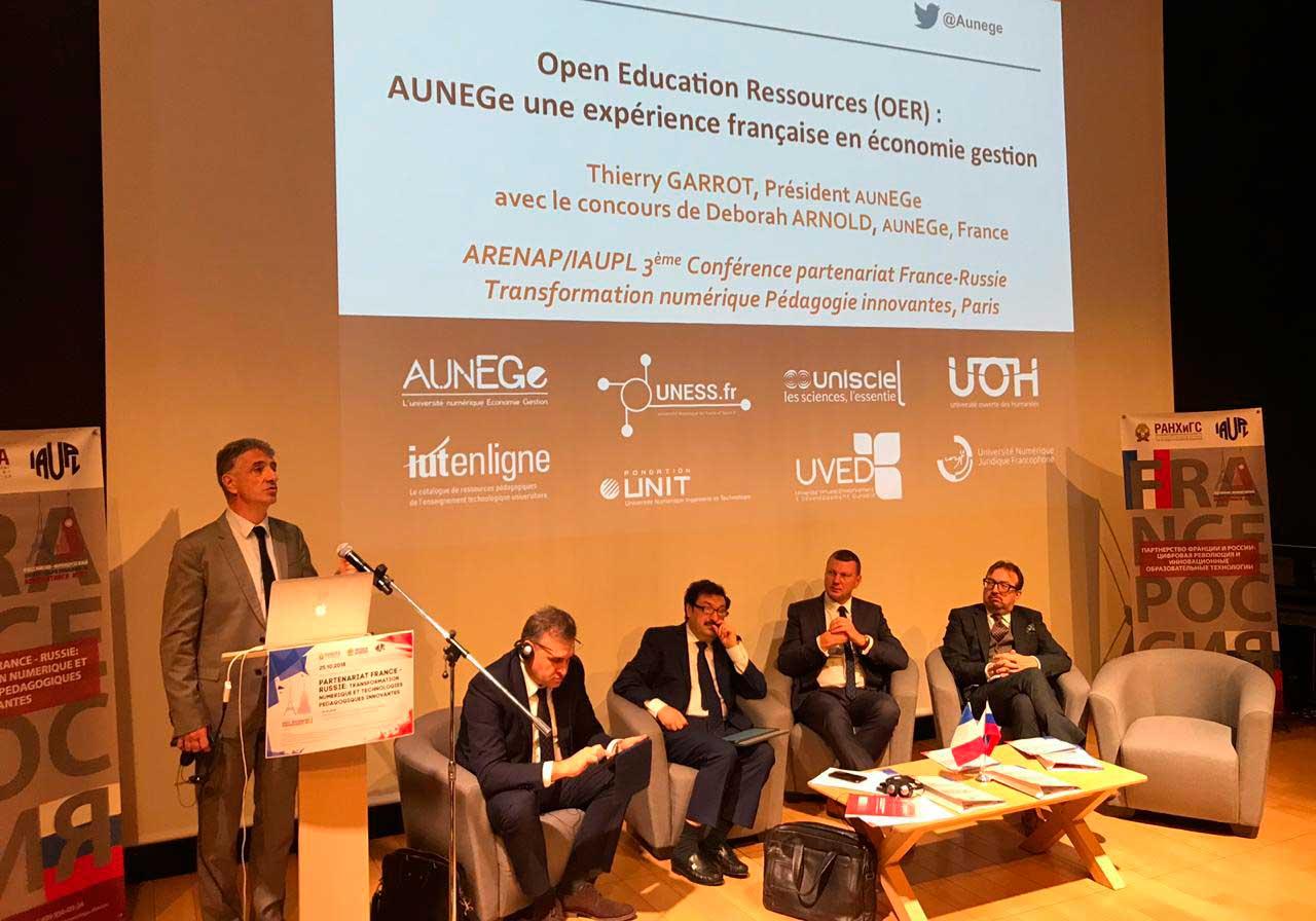 25 октября в Российском культурном центре в Париже начала работу III ежегодная международная конференция Президентской академии, посвященная сотрудничеству России и Франции в сфере образования