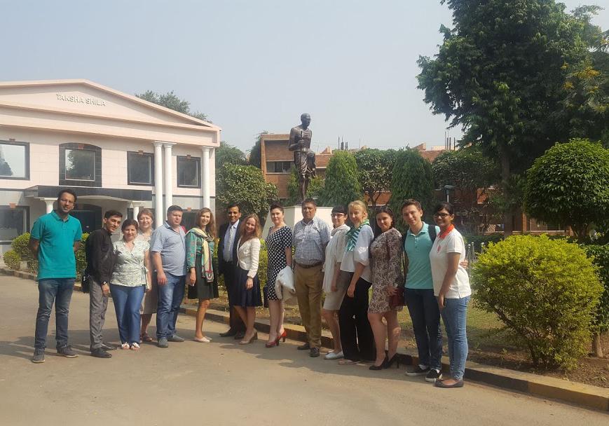 Академия провела стажировку в Индии