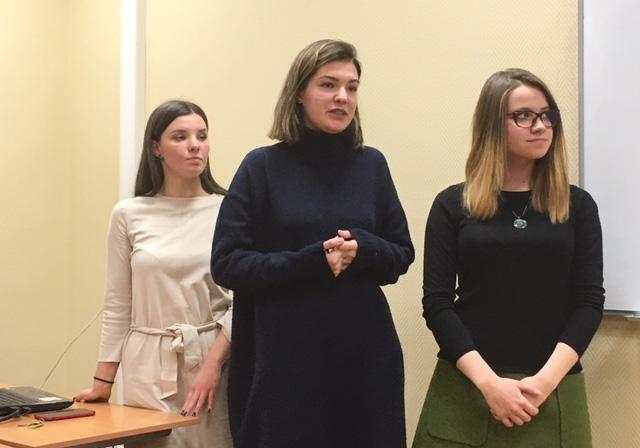 Защита проекта команды сербских студентов из Белграда