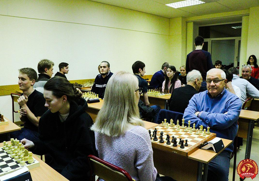 Определились чемпионы Осеннего первенства Академии по шахматам