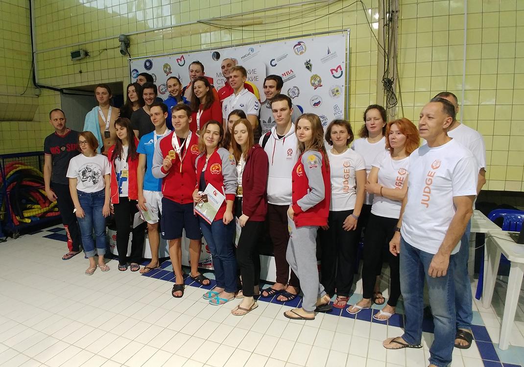 Пловцы Академии победили на МССИ