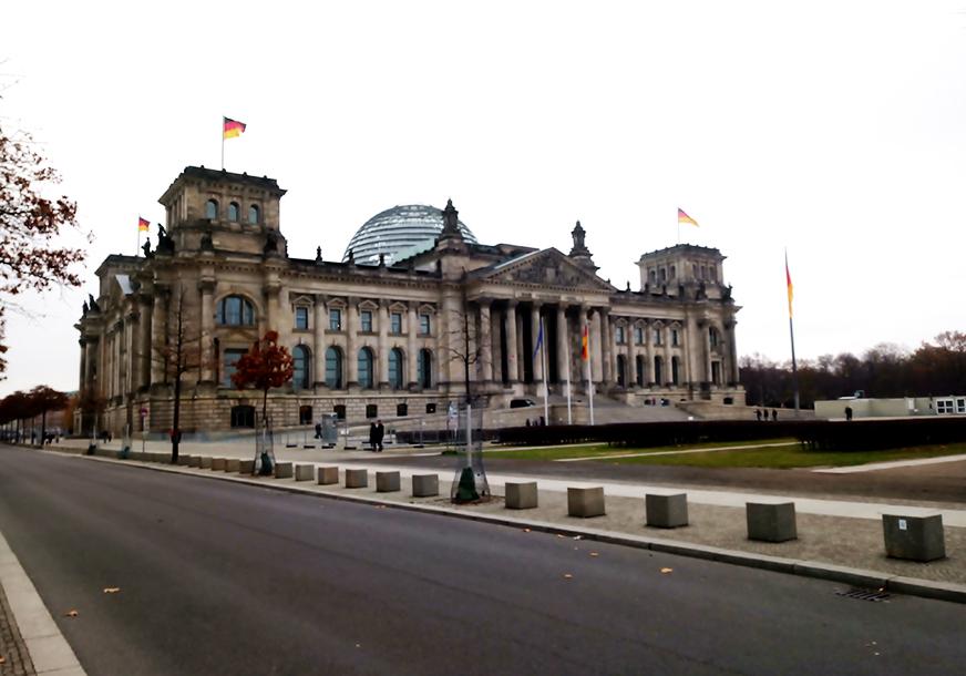 Студент посетил бундестаг и бундес-суд