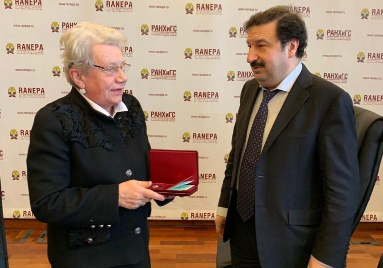Сотрудники РАНХиГС получили государственные награды