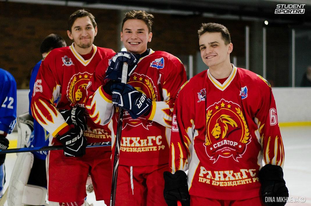 Студенты Академии – вторые на хоккейном «турнире звезд»