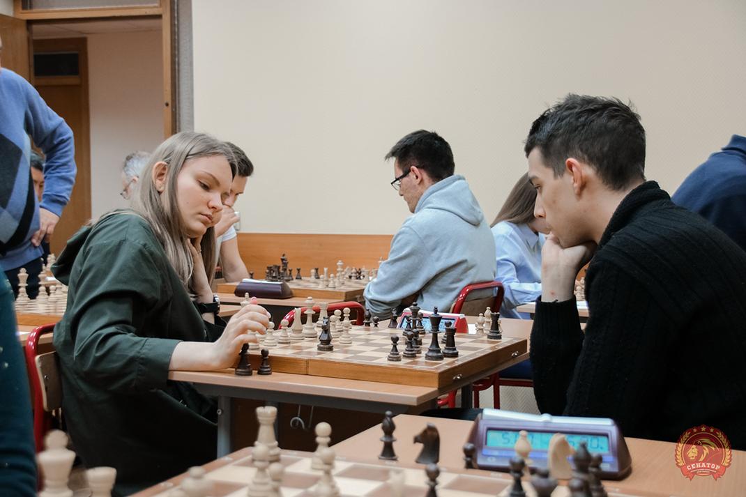 Названы лучшие шахматисты Академии
