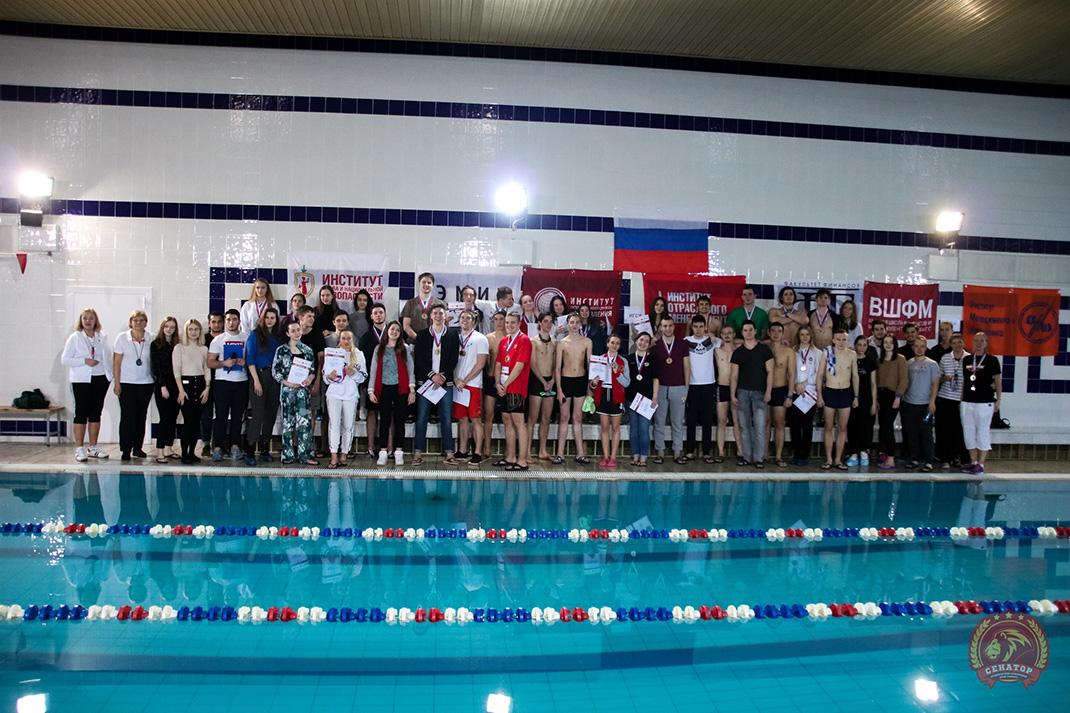 Названы лучшие пловцы Президентской академии