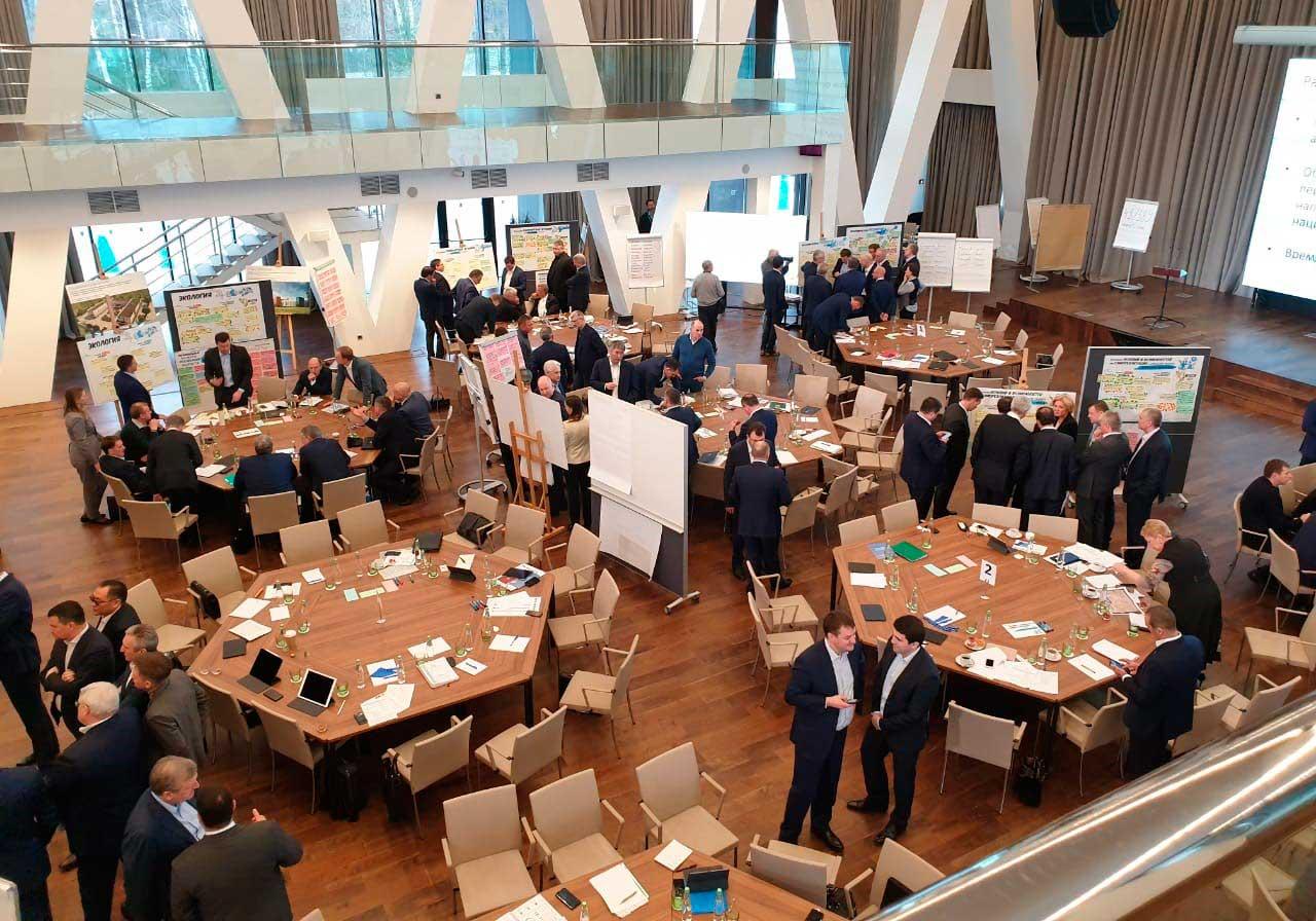 4-6 апреля в Подмосковье состоялся форум по вопросам реализации национальных проектов. Президентская академия выступила организатором, отвечающим за содержание и экспертную работу на форуме