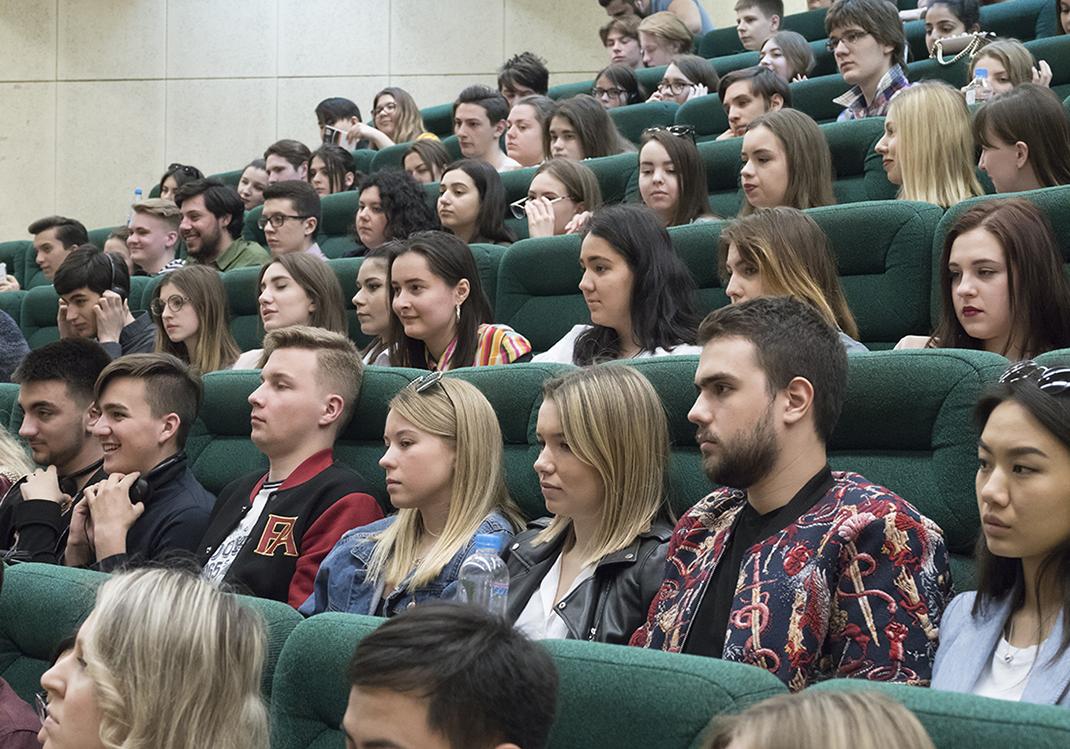 Лекция от посла Нидерландов в России Рене Джонс-Бос в РАНХиГС