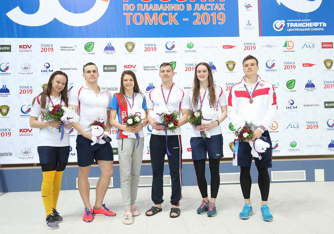 Студент Академии стал чемпионом России по подводному плаванию