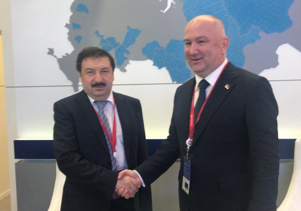 Сотрудничество Президентской академии и Сербии