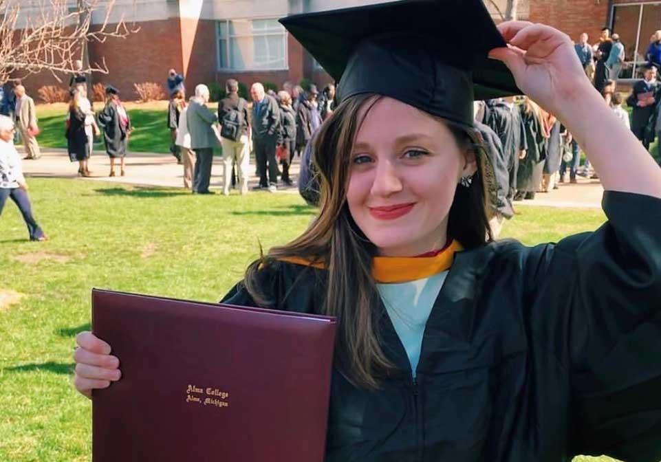 Выпускница РАНХиГС из Грузии оценивает уровень образования в Академии на уровне лучших университетов США
