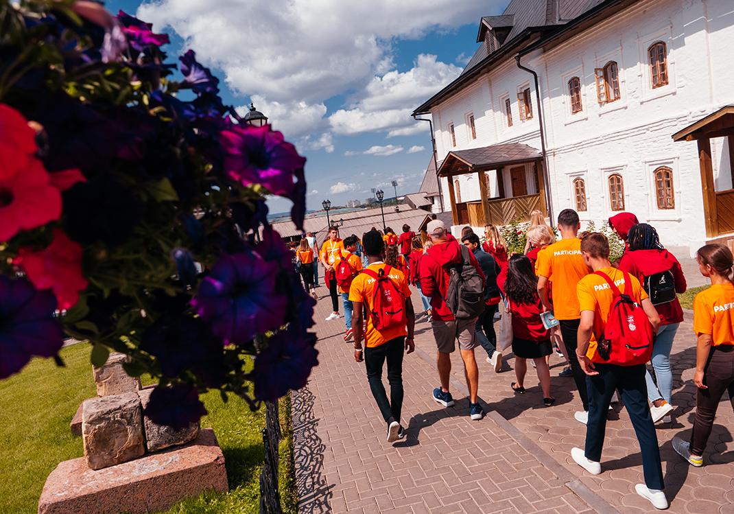 Участники Летнего кампуса посетили остров-град Свияжск