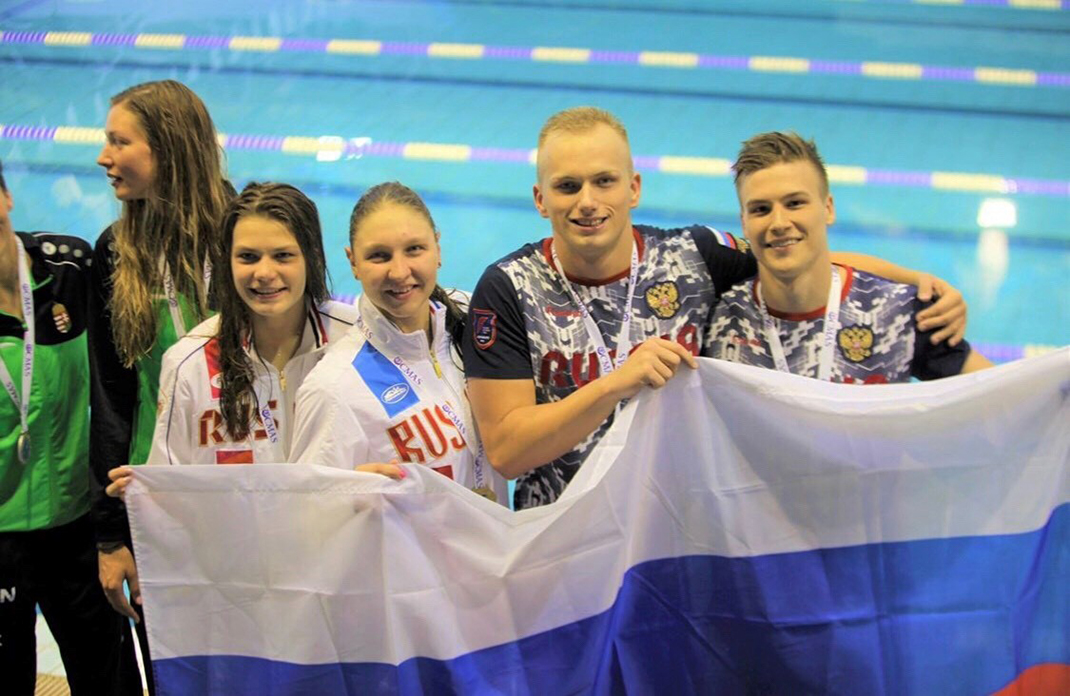 Чемпионы Европы – Владимир Сидоров и Лев Штрайх